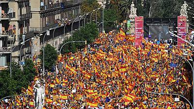 Manifestación en Barcelona - 08/10/17