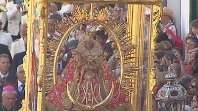 Bajada de la Virgen en imagenes