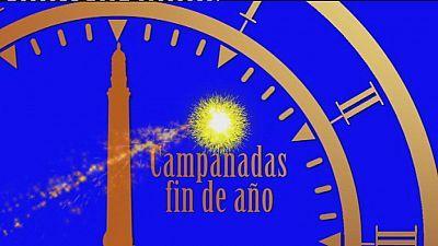 Campanadas fin de año desde Canarias - 2013-2014