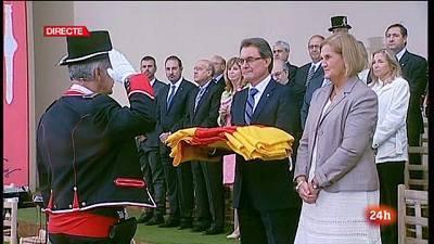 Celebració de la Diada Nacional de Catalunya. 11 de setembre de 2013