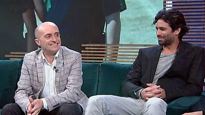 Con Pepe Viyuela y Rubén Cortada