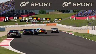 Automovilismo Virtual - Campeonato de España Gran Turismo. Gran Premio 6