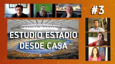 desde casa, programa 3: El nuevo calendario del fútbol