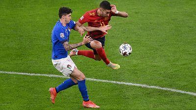 Fútbol - UEFA Nations League 2020 - 1ª semifinal: Italia - España