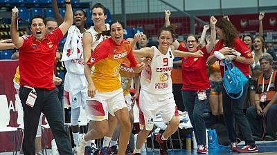 España 75 - Montenegro 74
