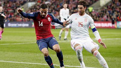 Fútbol - Selección absoluta clasificatorio EUROCOPA 2020: Noruega - España