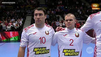 Balonmano - Campeonato de Europa Masculino: Bielorrusia - España