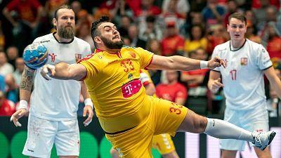 Balonmano - Campeonato de Europa Masculino: República Checa - Macedonia