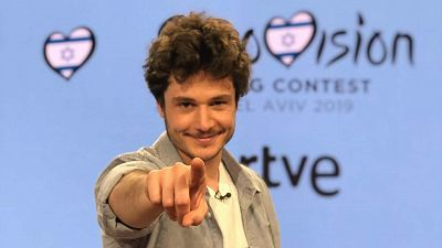 Así ha sido la rueda de prensa de Miki, representante de España en Eurovisión 2019