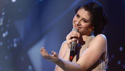 2012 - La eslovena Eva Boto, a Eurovisión 2012 con la canción