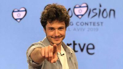 2019 - Así ha sido la rueda de prensa de Miki, representante de España en Eurovisión 2019