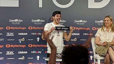 2019 - Segunda rueda de prensa completa de Miki: Actuará en la segunda mitad de la final
