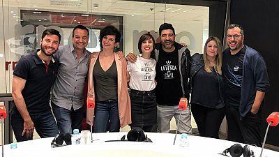 Tony Aguilar, Julia Varela, Dani Galindo y Víctor Escudero visitan