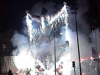 de Valencia 2011. 'Nit de la cremà'
