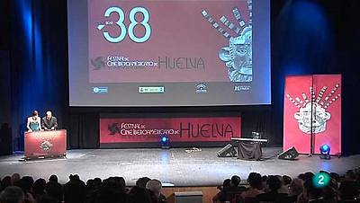 Gala de clausura del Festival de Cine de Huelva