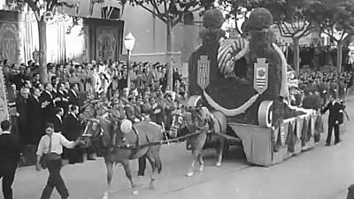 BARCELONA. ERA FRANCO 1939 - 1975. CAPITAL DE LA NACION