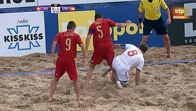 Clasificación Campeonato del Mundo. Zona europea. 1ª semifinal. Suiza - España