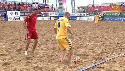 Clasificación Campeonato del Mundo zona europea. 2ª Fase. España - Ucrania