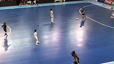 European Women's Futsal Tournament 2019. Final: Jimbeee Roldan - Kick Off