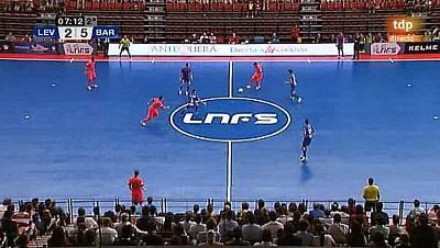 Liga nacional. 1ª jornada: Levante - FC Barcelona