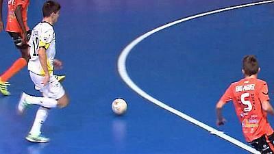 Liga nacional. 13ª jornada: Santiago Futsal - Burela Pescados Rubén