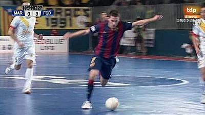 Liga nacional. 23ª jornada: Marfil Santa Coloma - FC Barcelona