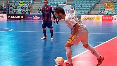 Liga nacional. 27ª jornada: Santiago Futsal - FC Barcelona