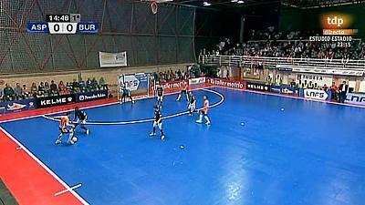 Liga nacional. 29ª jornada: Aspil Vidal Ribera Navarra-Burela Pescados Rubén