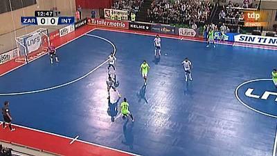 Liga nacional. 5ª jornada. D-Link Zaragoza - Inter Movistar