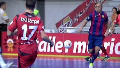 Liga nacional. 7ª jornada: El Pozo Murcia-FC Barcelona