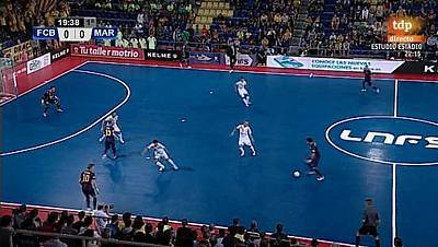 Liga nacional. 8ª jornada: FC Barcelona - Marfil Santa Coloma