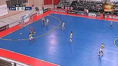 Liga nacional. 9ª jornada: DLINK Zaragoza - Palma Futsal