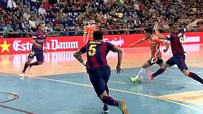 Liga nacional Play-Off 1/4 final. 2º partido: FC Barcelona - Aspil Ribera de Navarra