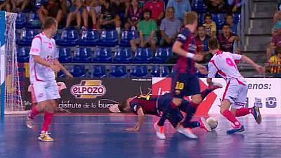 Liga Nacional. Play Off. Semifinales: FC Barcelona - El Pozo Murcia