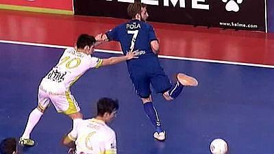 Liga nacional. Play-Off. Semifinales: Inter Movistar - Palma Futsal
