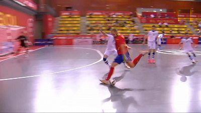 Preparación para el Campeonato del Mundo: España - Uzbekistán, desde Las Rozas (Madrid