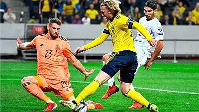 Clasificación Campeonato del Mundo 2022: Suecia - España