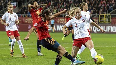 Clasificación Eurocopa femenina 2021 3ª jornada: Polonia - España