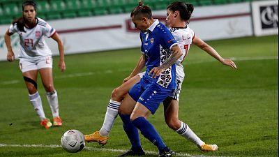 Clasificación Eurocopa femenina, 7ª jornada: Moldavia - España