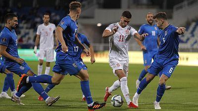 Clasificación Mundial 2022: Federación de fútbol de Kosovo - España