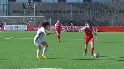 Copa de la Reina. 1/4 final: Madrid CF - Sevilla FC