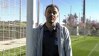 Luis Enrique: Lista convocados del seleccionador español