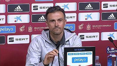 Luis Enrique: Lista de convocados y rueda de prensa del seleccionador español