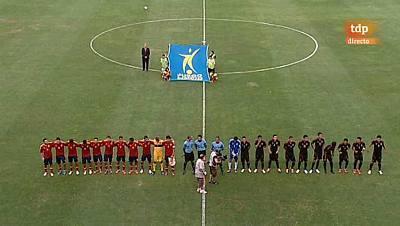 Preparación Preolímpica de la Selección española: España - México