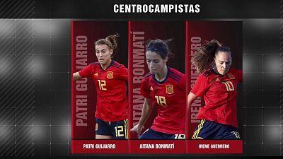 Presentación lista de convocadas Selección española femenina y rueda de prensa Jorge Vilda