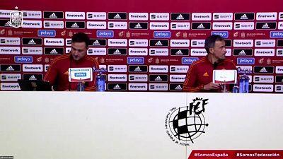 Presentación lista de convocados Selección española y rueda de prensa de Luis Enrique