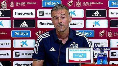 Presentación lista de convocados Selección española y rueda de prensa Luis Enrique