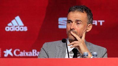 Presentación Luis Enrique. Seleccionador español de fútbol