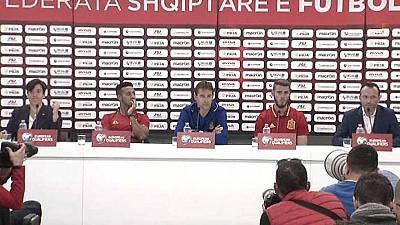 Rueda de prensa de la selección española previa partido Albania