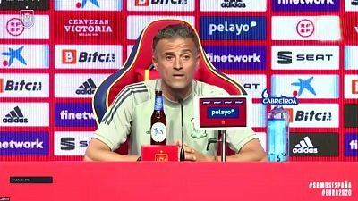 Rueda de prensa Luis Enrique, seleccionador nacional de fútbol